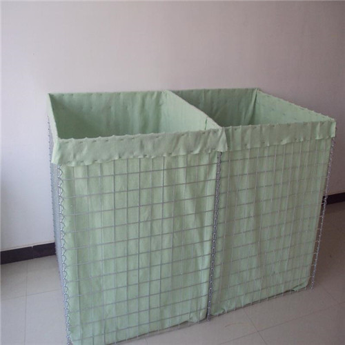 Gabion wall hesco barrier