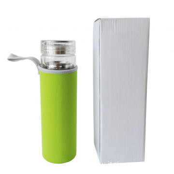 Double Walled Glass Tumbler Travel Mug