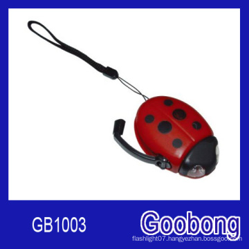 Beetle 2 LED Wind up Dynamo Torch