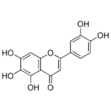 Name: 4H-1-Benzopyran-4-one,2-(3,4-dihydroxyphenyl)-5,6,7-trihydroxy- CAS 18003-33-3