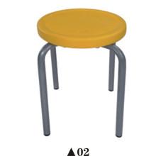 Tabouret de laboratoire / chaise de laboratoire / chaise de laboratoire avec le plastique creux de PE