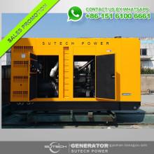 Buen precio generador diesel 500kw con motor Shangchai SC27G755D2