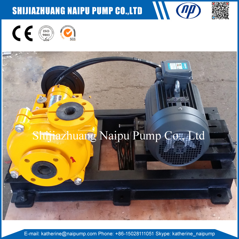 Rubber Liner Slurry Pump