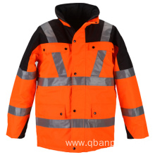 EN20471 rainwear reflective safety jacket