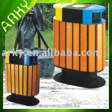 Good Quality Wooden Waste Bin