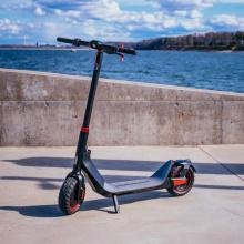 Nova scooter dobrável com pneus gordos para viagens de trabalho