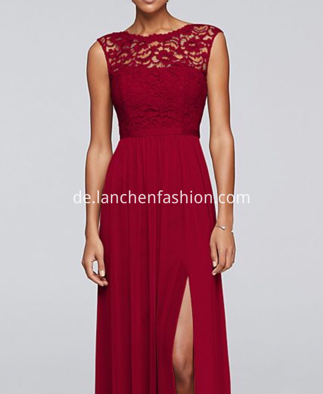 Bridesmaid Dress in Red