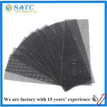 Vente chaude de bonne qualité abrasif abrasif feuille de support en fiber de verre maille