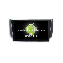 HOT!car dvd with mirror link/DVR/TPMS/OBD2 for 10.1 inch full touch screen 4.4 Android system SYLPHY