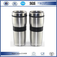Stainless Steel Coffee Mug and Stainless Steel Travel Mug and Coffee Travel Mug with Silicone Wrap