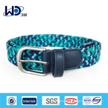 2014 Fashion blue braided belts for men