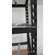 Medium duty industrial rack for warehouse