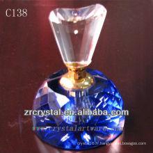 Belle bouteille de parfum en cristal C138