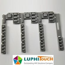 Industrial Using High Buttons Carbon Pill Rubber Keypad