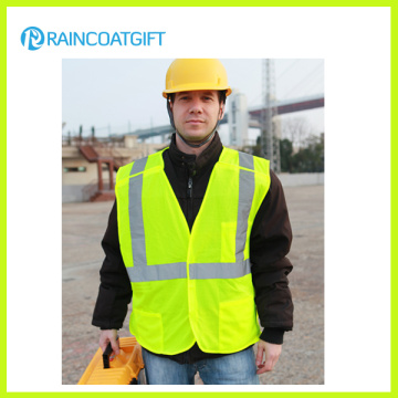 100% Polyester En471 Reflective Safety Vest RV0706-06