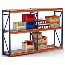 Warehouse Storage Industrial Metal Shelves