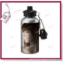 400ml Sliver Sublimation Aluminum Sports Bottle with Custom Logo