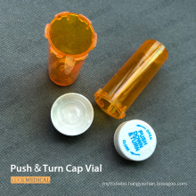 Child Resistant Push&Turn Cap Vial