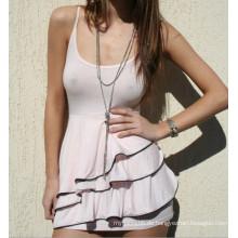 Sexy Sommer Baumwolle Großhandel Mode Frauen Kleid