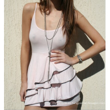 Vestido de las mujeres de moda al por mayor de algodón sexy verano