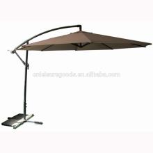 Parasol de jardin cantilever en métal patio extérieur