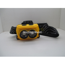 Double Switch Double Light Source, Multifunction Head Lamp