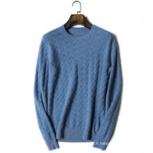 Hommes casual O cou pull en cachemire nouvelle conception à tricoter pull pull chandail doux chaud d'hiver pour les hommes
