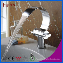 Fyeer Fashion Double Handle Waterfall Basin Faucet