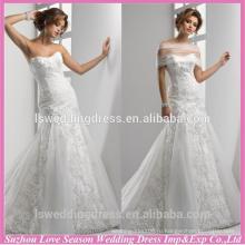WD1211 Китай на заказ свадебное платье Саудовской Аравии свадебное платья из Китая godest органзы юбка кружева Египет свадебное платье