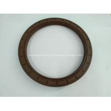 Rubber covered skeleton TC double lip oil seal
