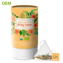 Personalizado 28 días desintoxicación té cuerpo limpiar perder rápidamente peso Skinnyfit té / Skinnyfit té de desintoxicación