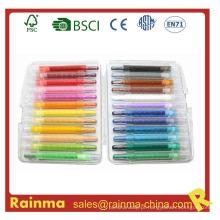 Crayon Twistable para artigos de papelaria Back to School