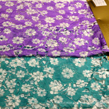 Decorative Fabric Printed Lace Textile