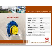 Aufzug getriebelose Zugmaschine