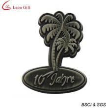 High Quality Custom Antique Sliver Souvenir Badge (LM1754)