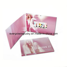 2014 Hot Product-4.3inch Video Advertising Brochure/Education LCD Video Book