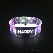 New Prouct Wedding 2017 Happy Led Flashing Bracelet