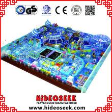 Estrutura interna do jogo do padrão do Ce do tema do oceano grande para crianças