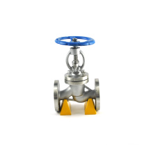 Good reputation api598 flanged a216 sanitary stainless steel globe valve DN200