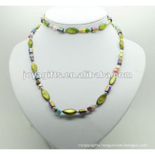Fashion Hematite Wrap With Green Pearl Shell