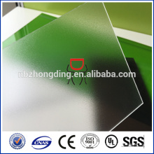 klare Polycarbonat-PC-Mattglas