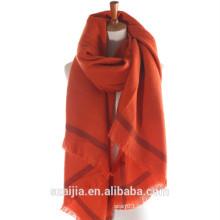 Moda inverno quente lenço de viscose / xaile