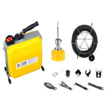 S125 limpiador de desagüe de alcantarillado / limpiador de desagüe de cable / desagüe en desagüe