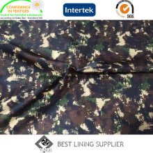 Printed Camouflage Pattern 100 Polyester Lining Fabric for Men′s Jacket