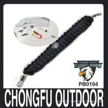 Survival fish Kit Para cord bracelets