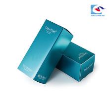 Sencai продвигает дешевую и гладкую поверхность складной косметическая коробка.