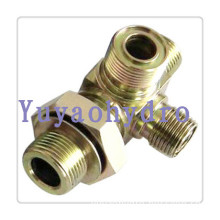 Forging Cross Fittings Hydraulic Adapter for High Pressure