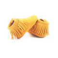 Yellow Baby Soft Sole Kindermoccasin