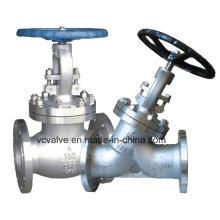 Vanne Globe ANSI en acier inoxydable avec fonctionnement manuel