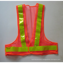 High Visible LED Safety Vest for Roadway
